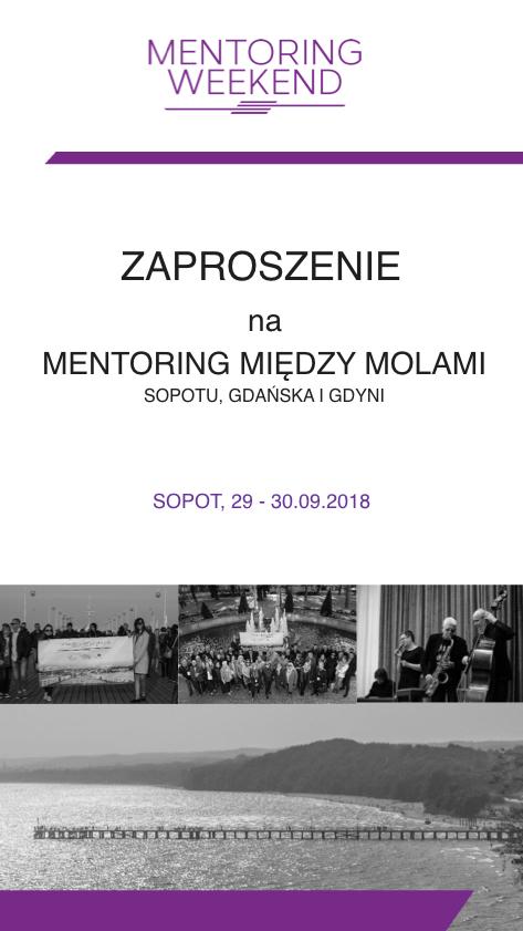 Zaproszenie na Mentoring Weekend 2018 - 01